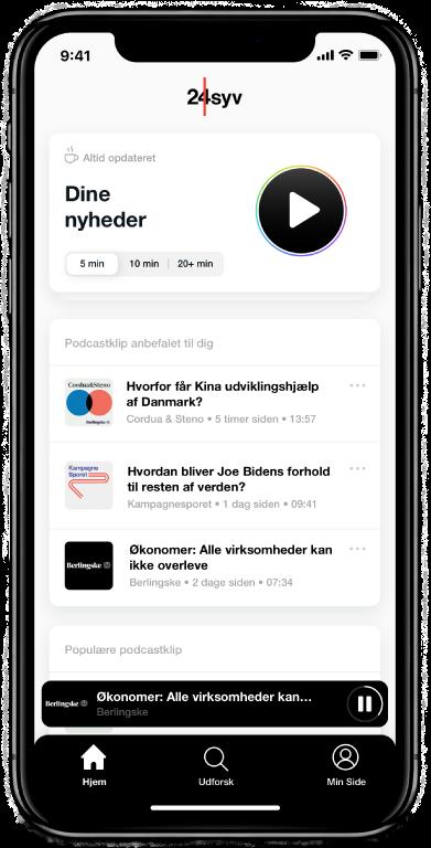 24syv app forside