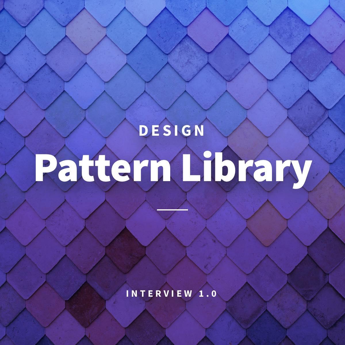 Mit einer Design Pattern Library arbeiten