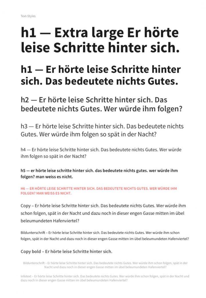 Typografie Definition Website
