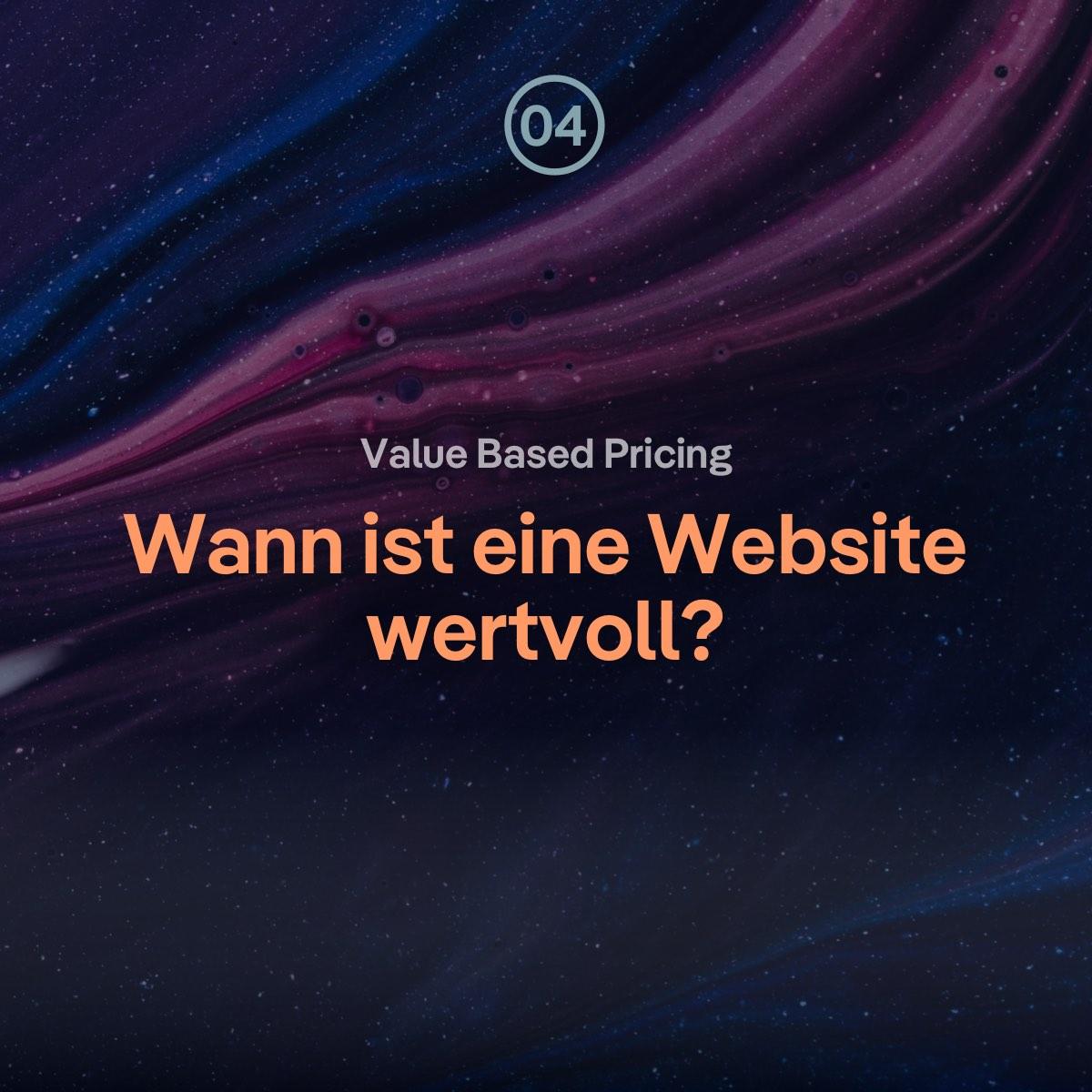 VBP: Ist eine Website wertvoller, wenn sie schwer umzusetzen ist?