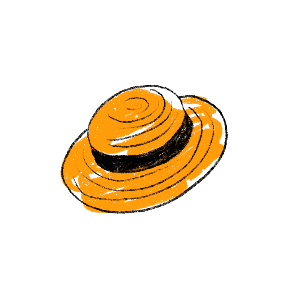 illustration chapeau