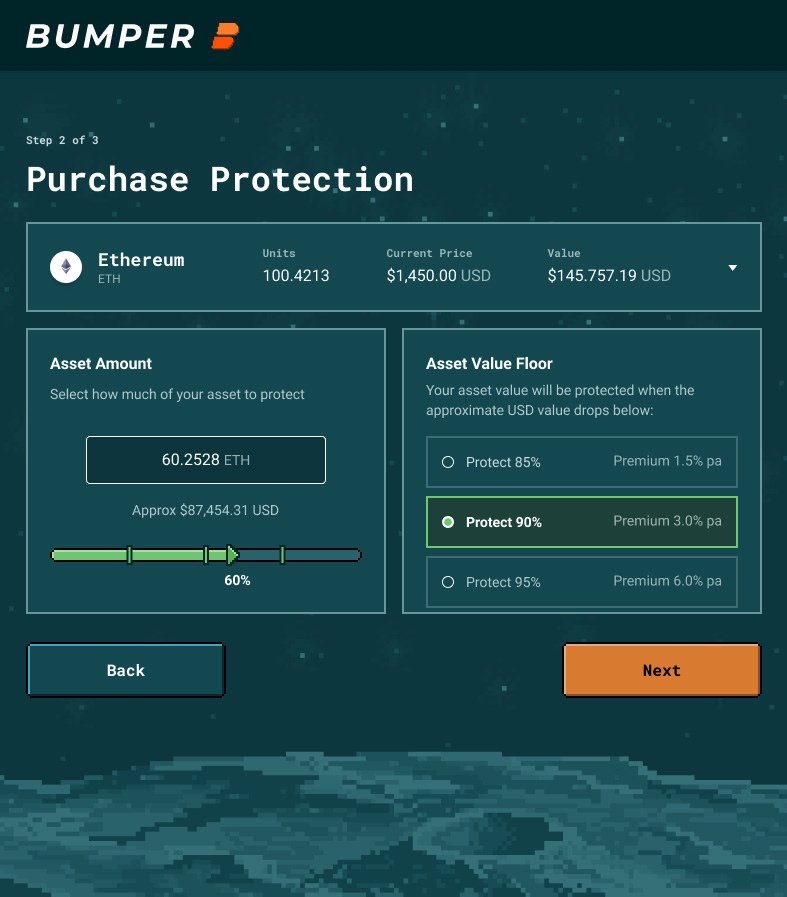 Purchase Protection Screenshot