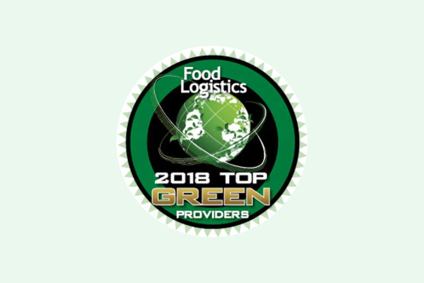 Food Logistics 2018 Top Green Providers List 2018 Logo