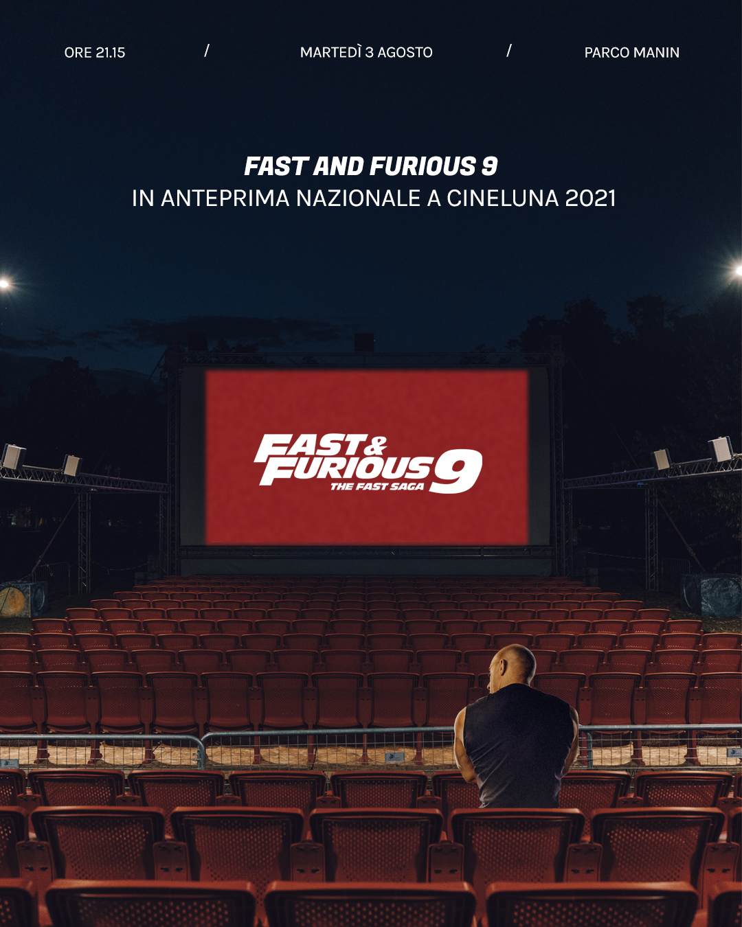 Fast and furious 9 - Anteprima nazionale