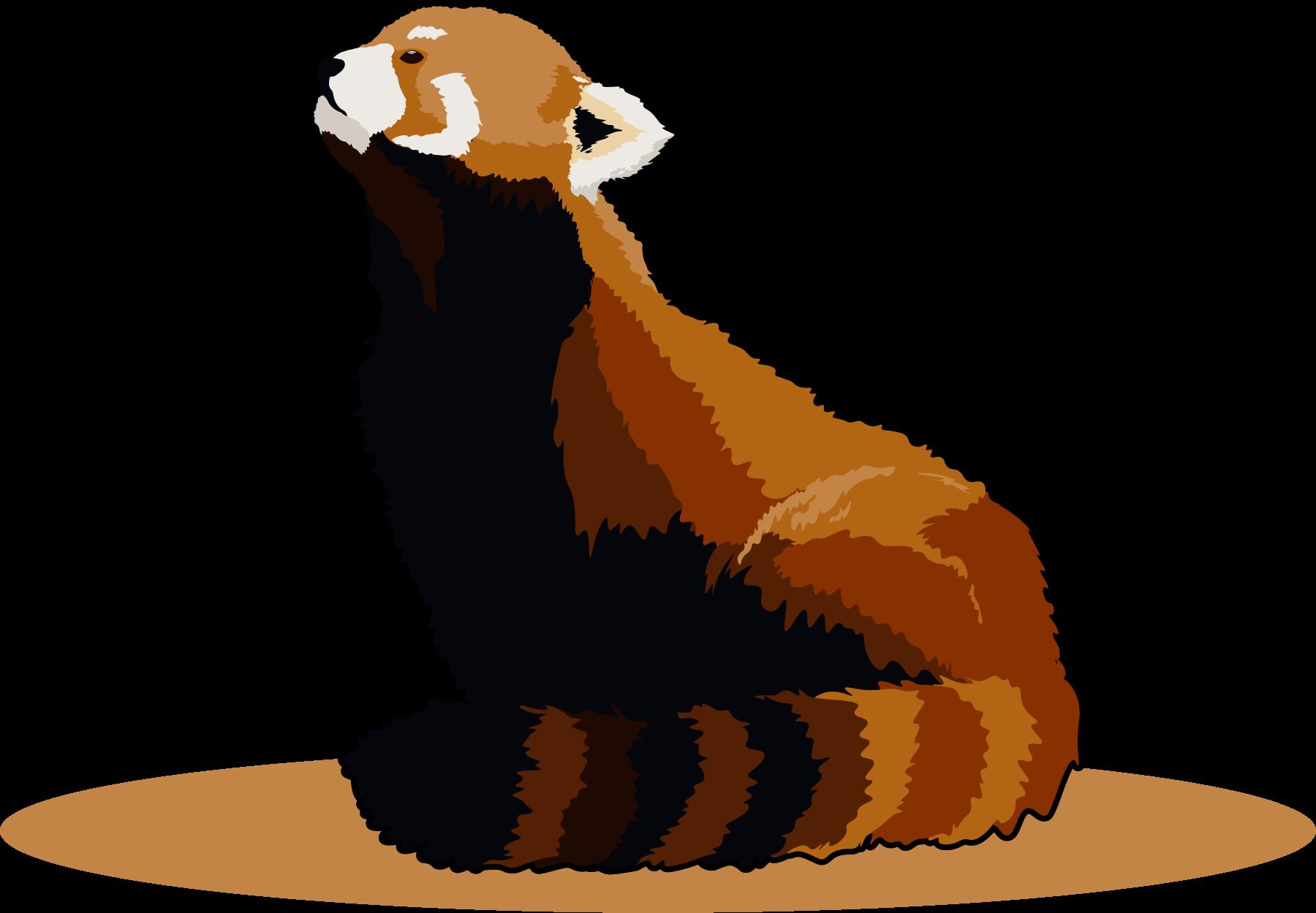 Bhim the Panda, posing for the Freelance Branding Package