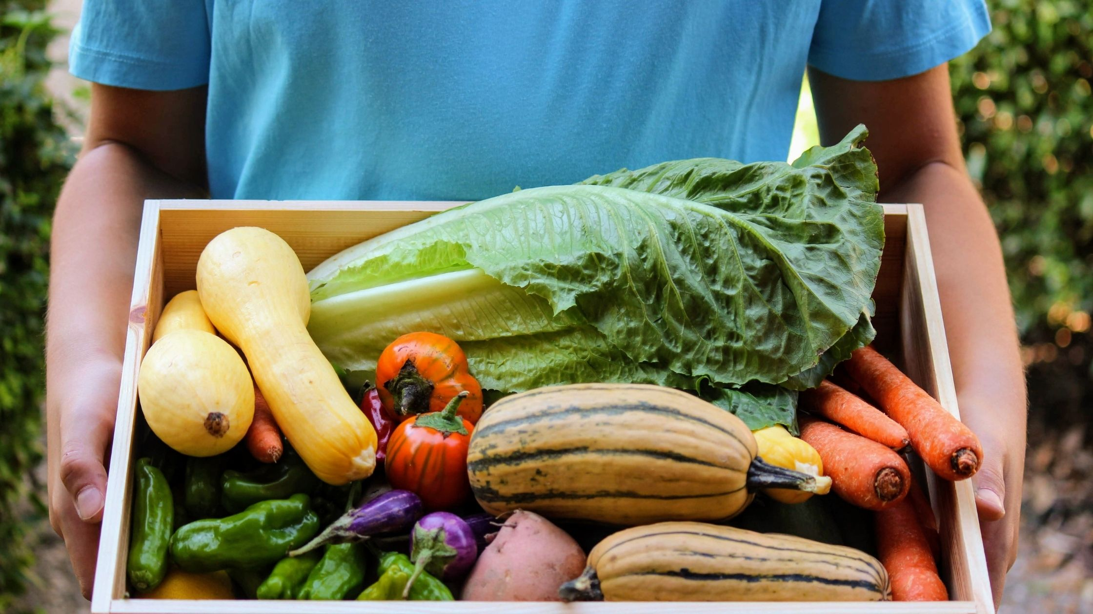 Don't have time to shop local or eat more veggies? A CSA is what you need.