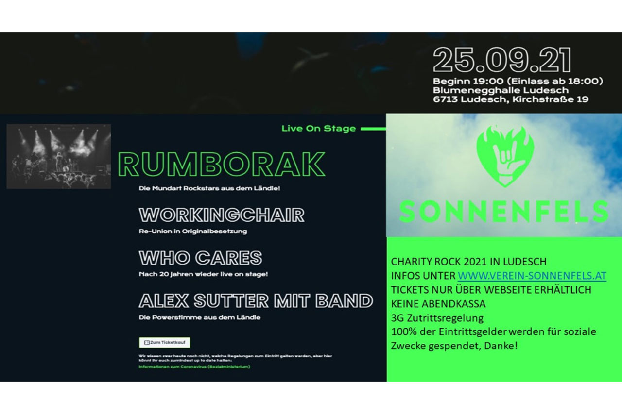 Charity Rock 2021 in Ludesch