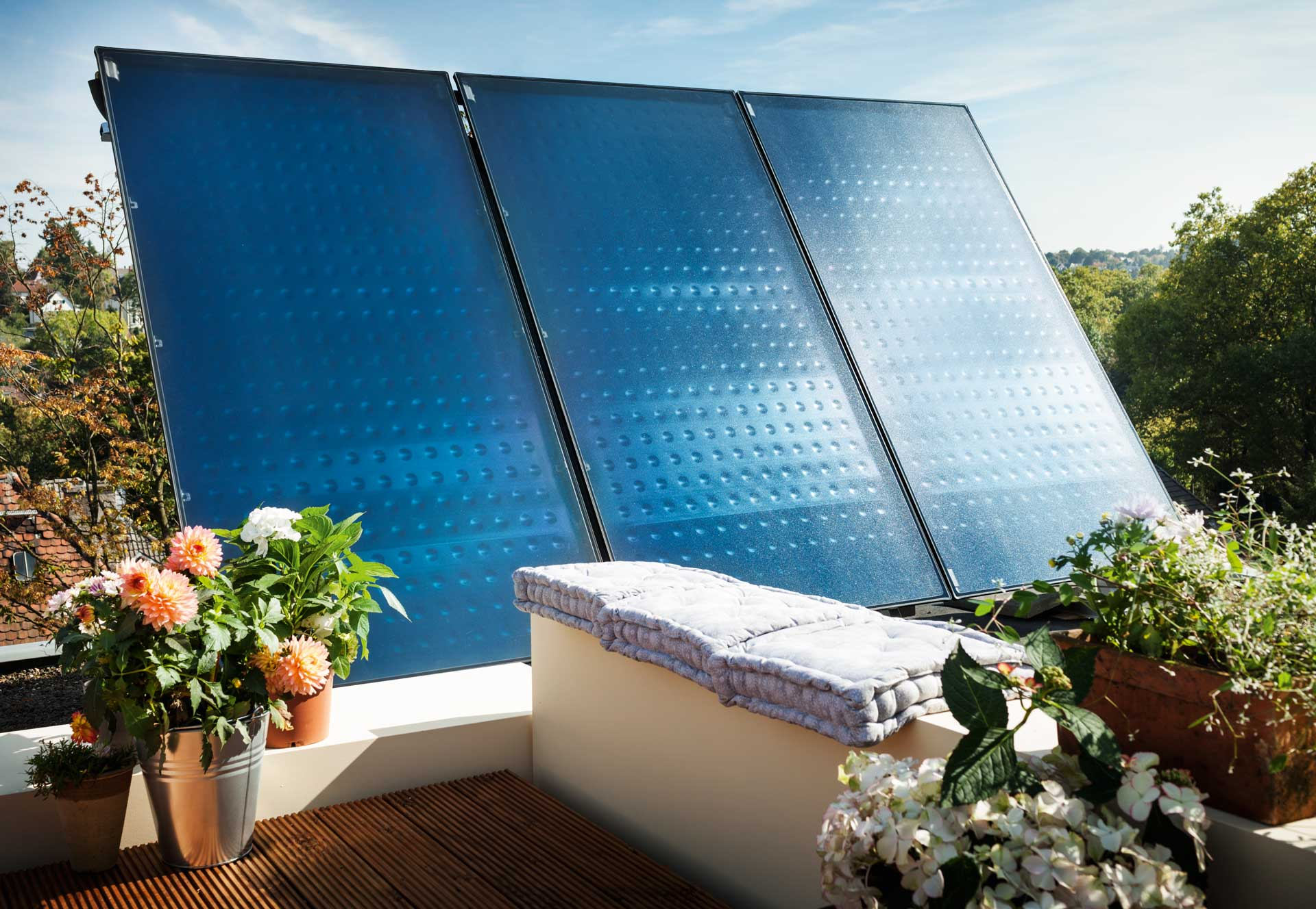 Solaranlage Buderus Logasol SKT