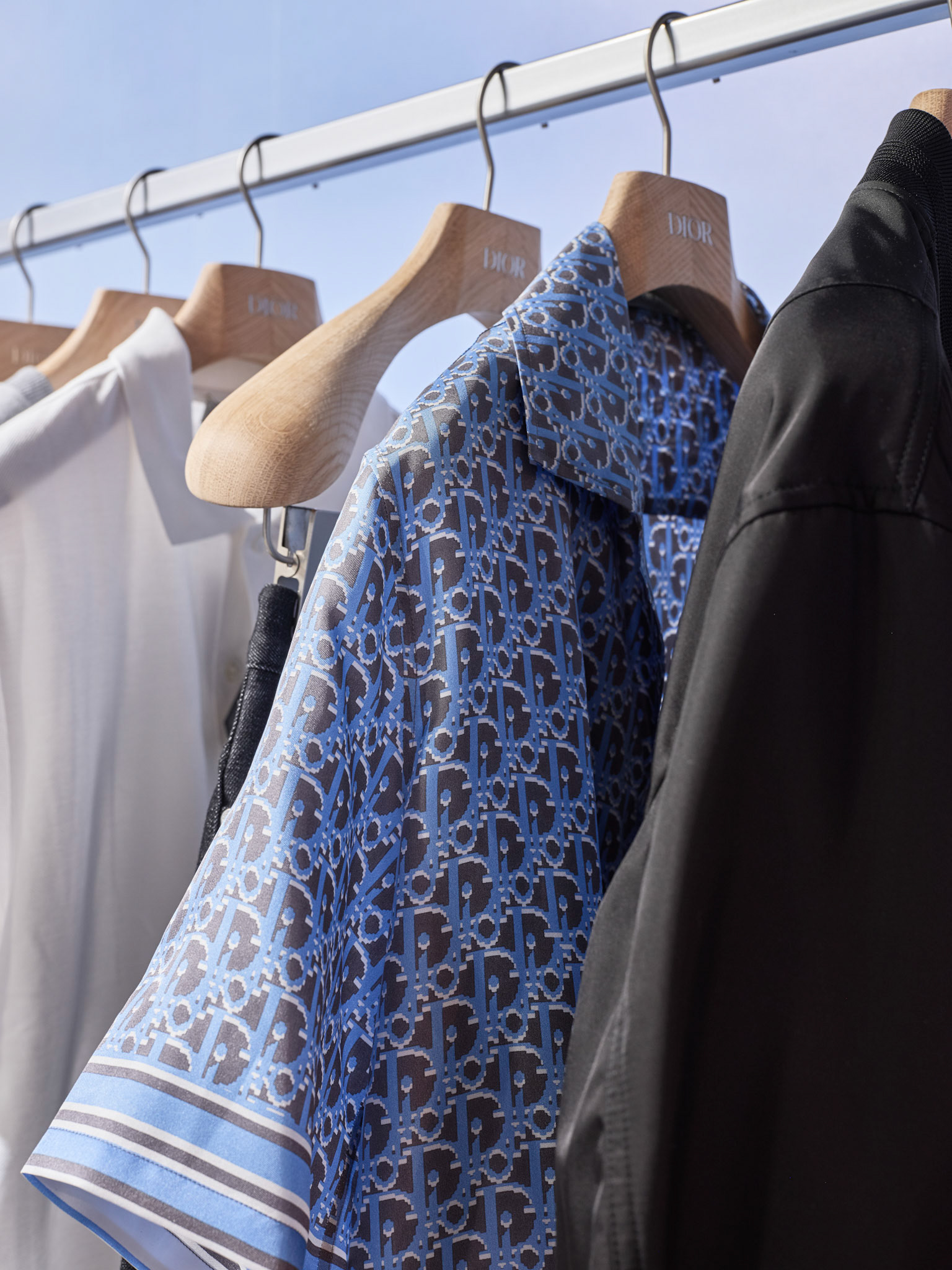 Retail Photography Dior Detail Shot at Pop up Store
