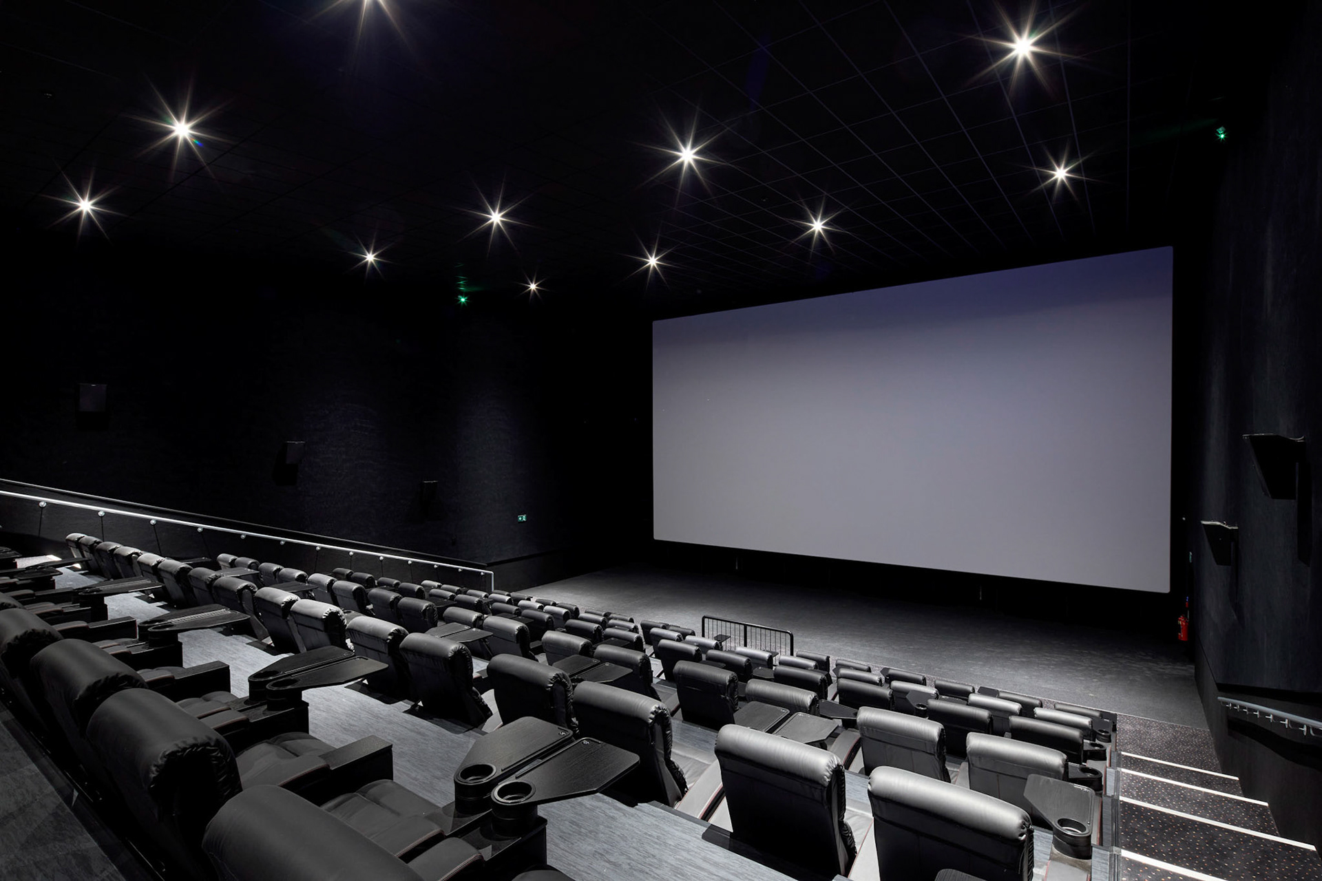 Architectural Photography St Enoch Glasgow Vue cinema inside one of the main cinema screens