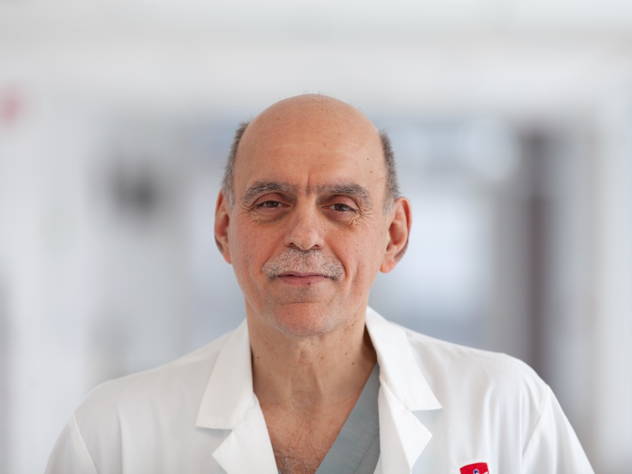 Image of doctor posing for a photo