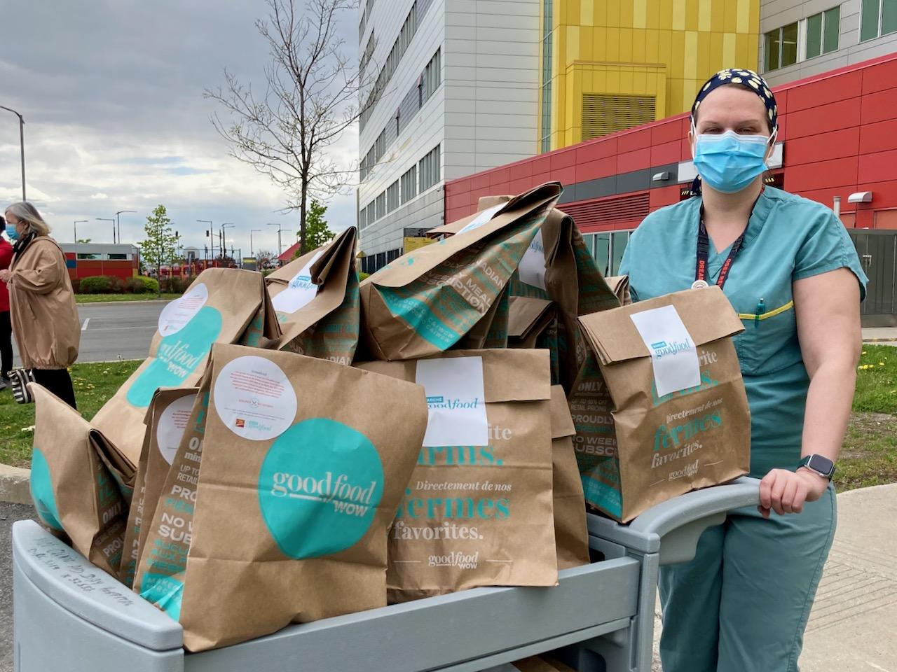 Image of nurses posing