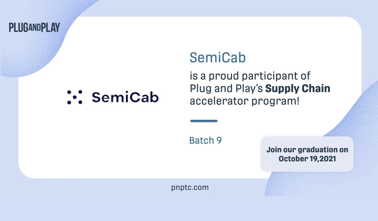 Orchestrating collaboration is what SemiCab is all about. In this post, we're benefiting from new collaborations with Plug and Play (PNP), the Remo Virtual app, and PNP's Supply Chain Innovation Program, where collaboration and groundbreaking technology go hand in hand.