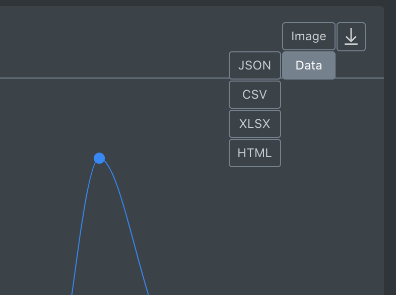 **New Feature** Data Export Functionality