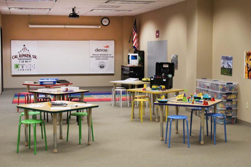 Ripken STEM Center Classroom