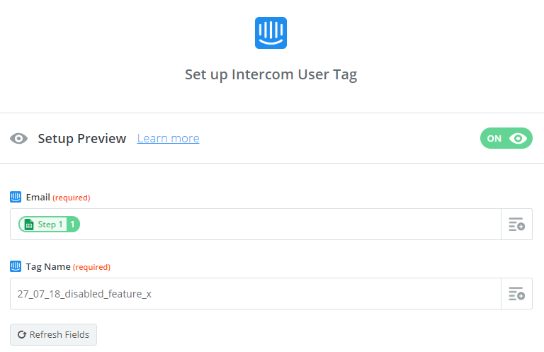 How to use Intercom to message users