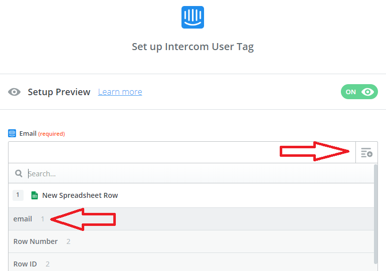 How to connect Intercom to Google Sheets