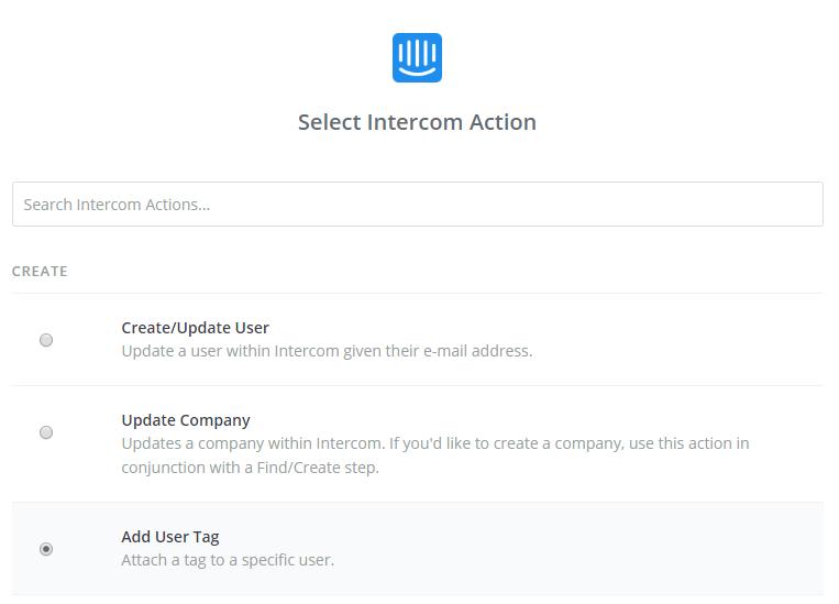 Intercom Hack - Select Tag