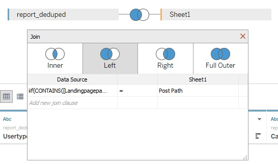 Tableau join example