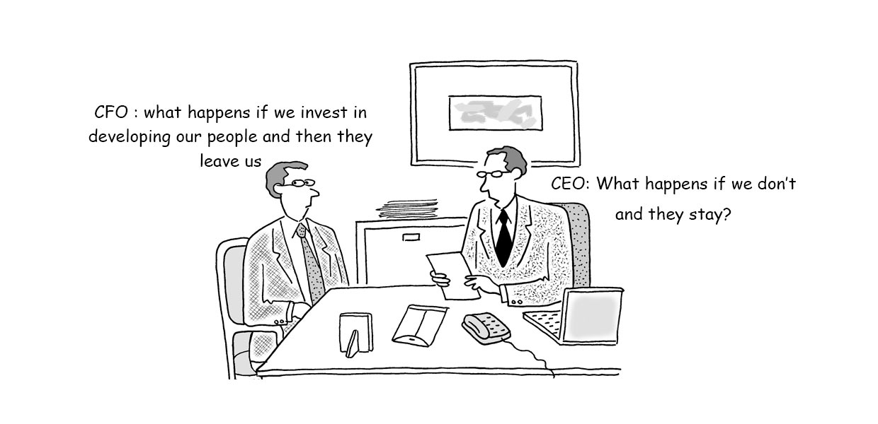 Invest in training employees