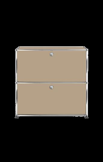 Der ideale Stauraum für Ordner und Unterlagen in deinem Homeoffice von USM Haller. Abschließbar für den Datenschutz und in verschiedenen Farben für ein stylisches und sicheres Arbeiten im Homeoffice.