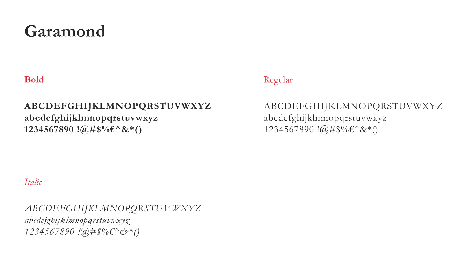 FAGQ font (Garamond)