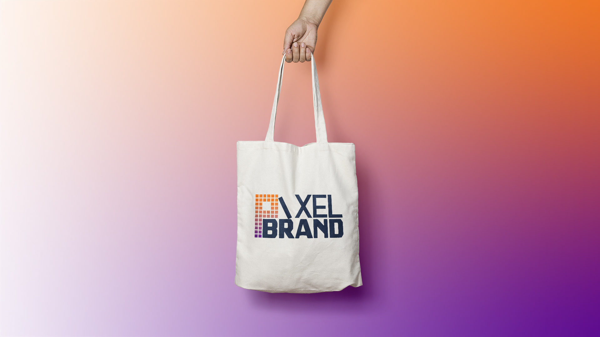 Pixel Brand's toto bag