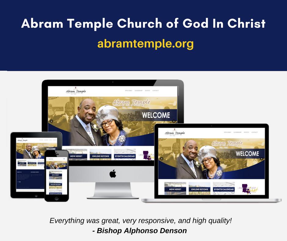 Abram Temple COGIC  Bunkie, La