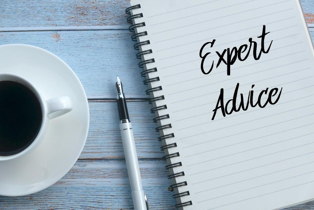Receive expert advice