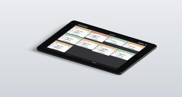 Cashpad KDS - Écran cuisine se connect avec Cashpad POS - Caisse enregistreuse iPad