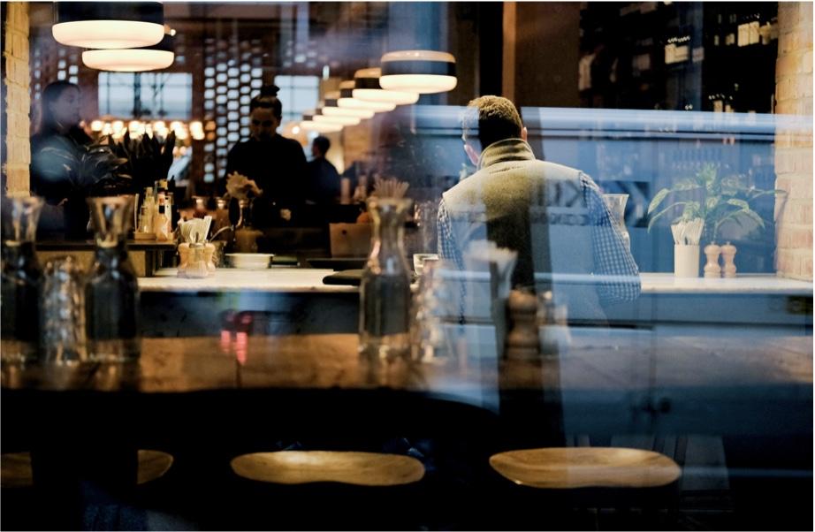 Image d'un Restaurant avec Cashpad POS - Caisse Enregistreuse iPad