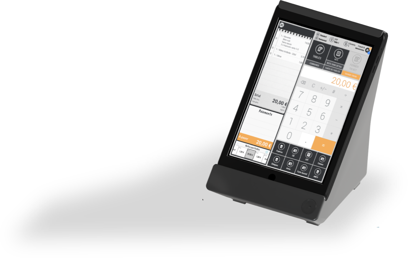 Cashpad POS - Caisse Enregistreuse iPad