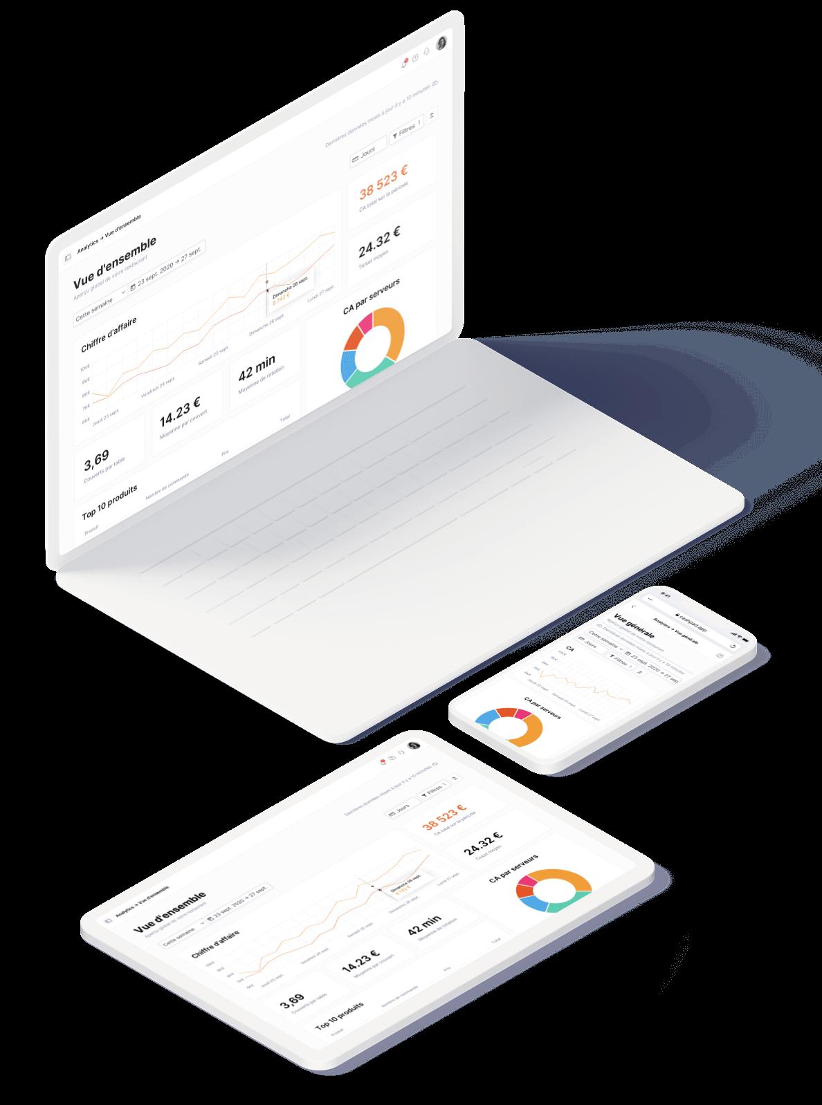 Nouveau Design et Nouvelle Architecture - Cashpad Back Office V2 pour Caisse Enregistreuse iPad - Plateforme POS tout-en-un