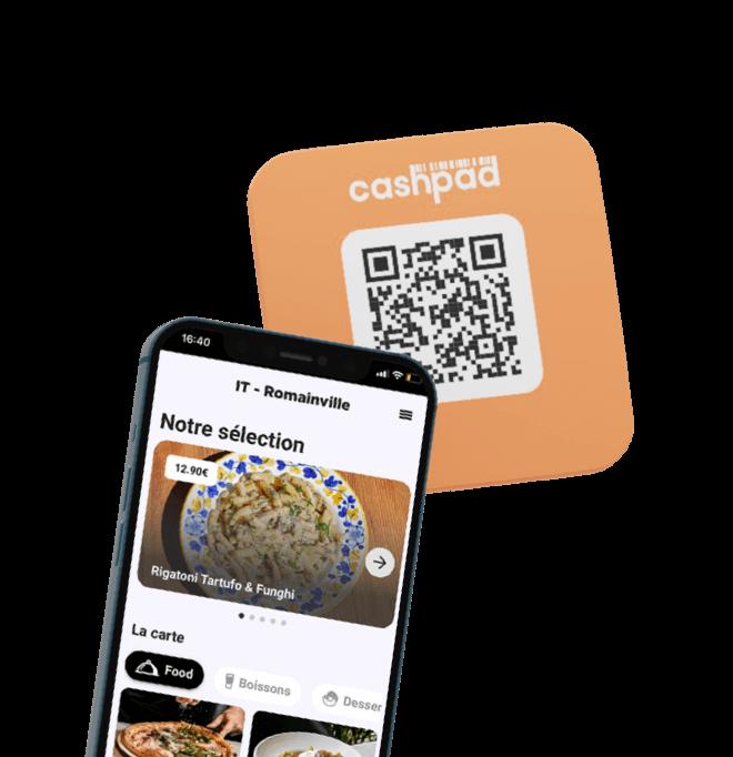 Commande à Table avec Cashpad +