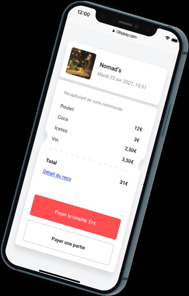 Paiement Mobile avec Cashpad +