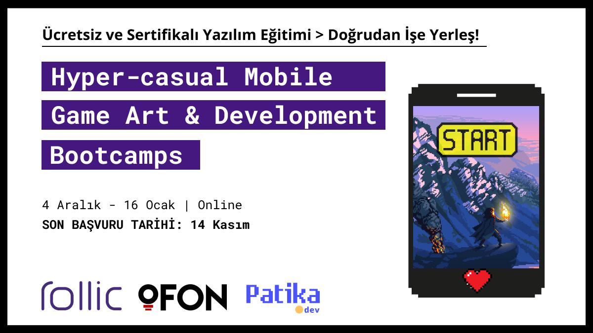 Hyper-Casual Mobile Game Art&Development Bootcamp