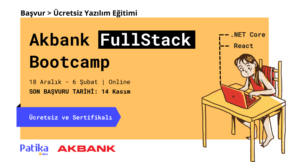 AKBANK FullStack Bootcamp