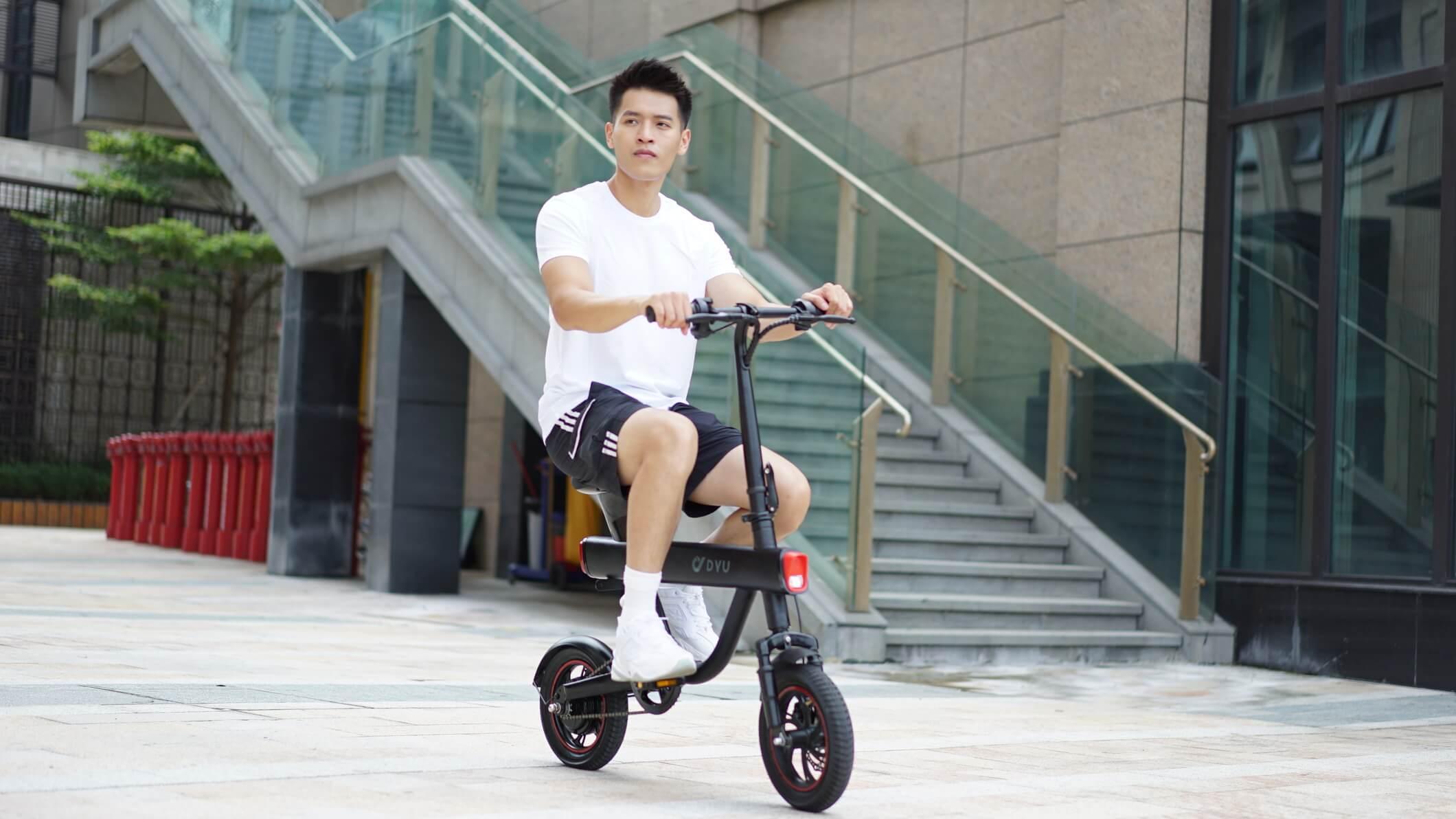 จักรยานไฟฟ้าV1-ขับขี่