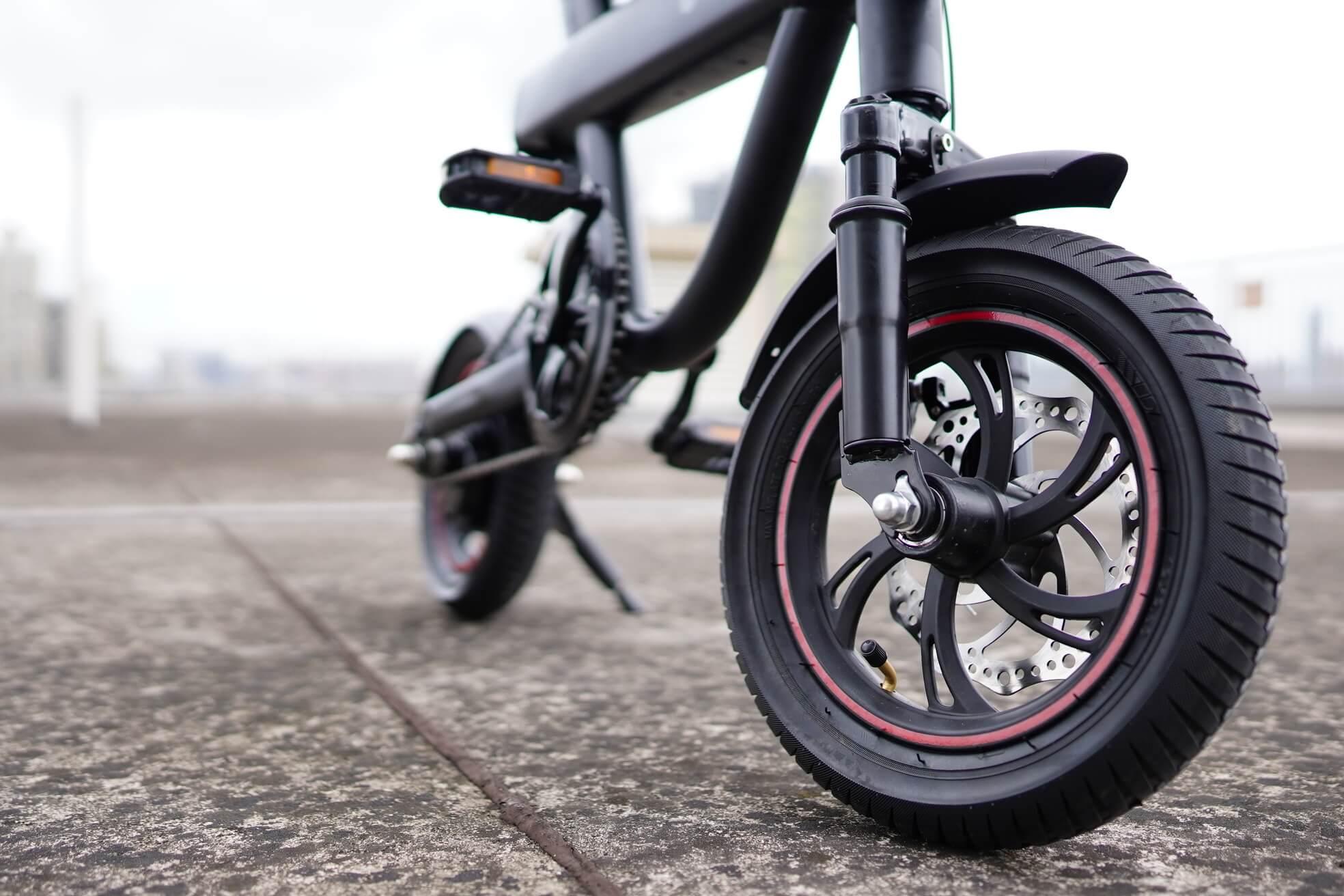 จักรยานไฟฟ้าV1-ล้อ