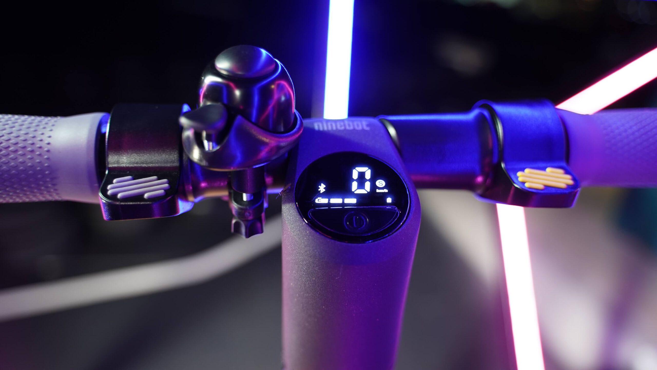 ninebot kickscooter e25-แผงควบคุม