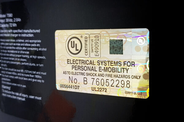 UL Sticker