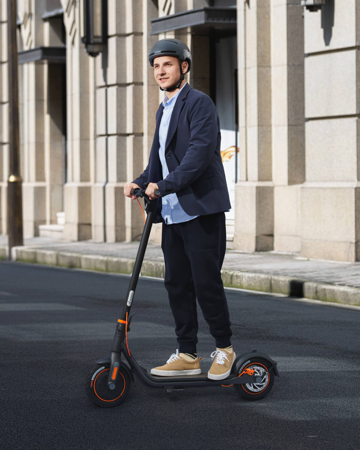 Ninebot F40 scooter riding experience