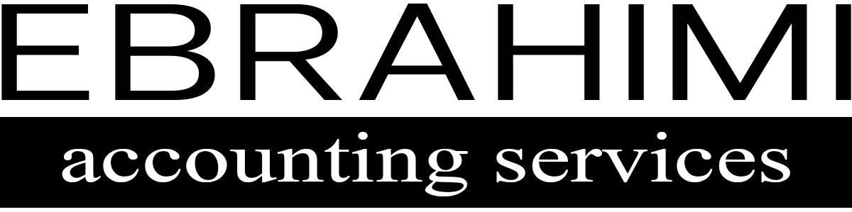 Ebrahimi Accounting Vancouver Logo Black