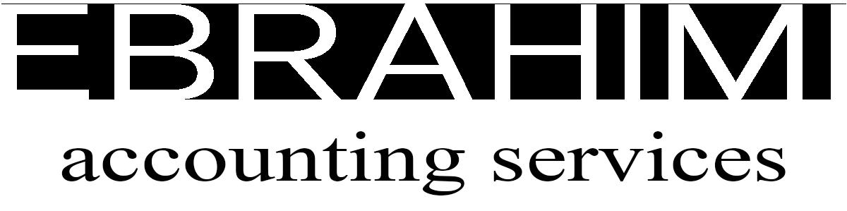 Ebrahimi Accounting Vancouver Logo White