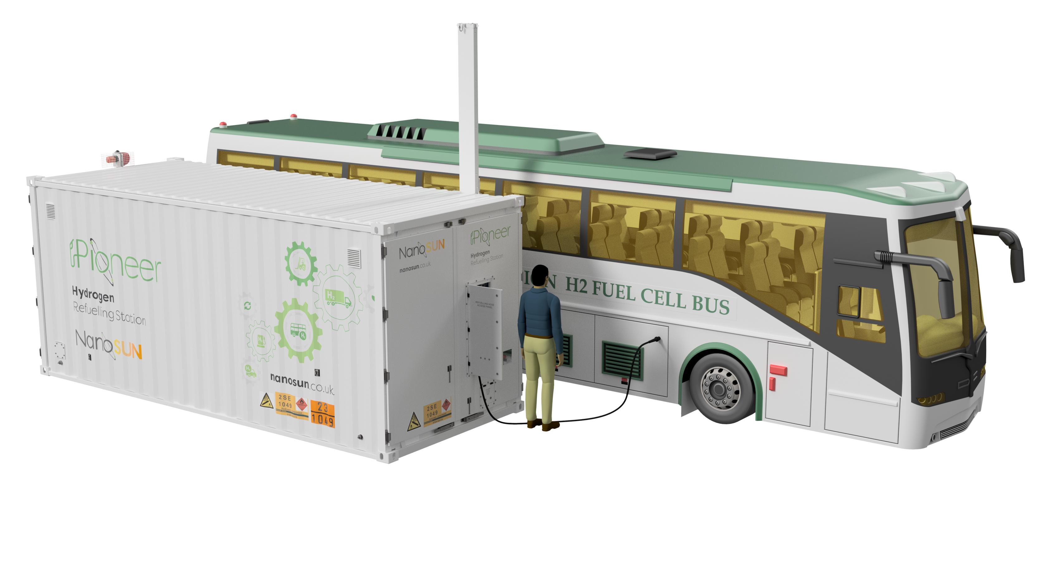 NanoSUN Pioneer Hydrogen Refuelling Station