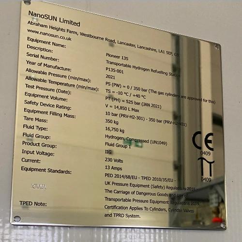 NanoSUN Pioneer HRS
