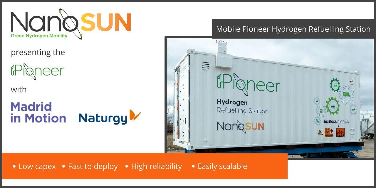 Pioneer Hydrogen Refuelling Station
