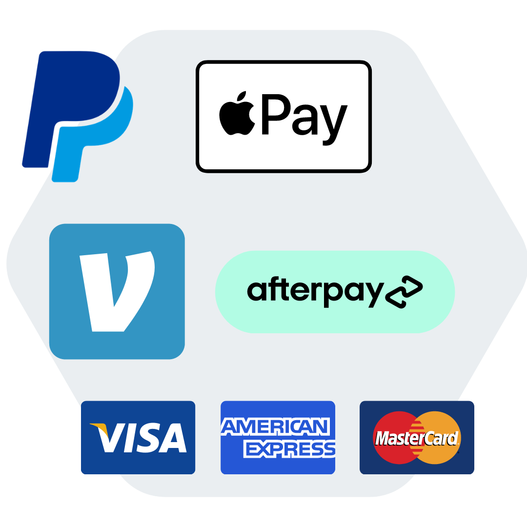 6+ payment methods