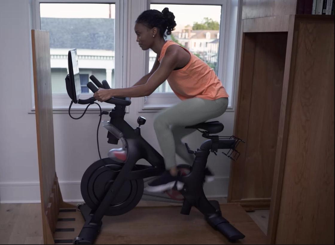 bike in use