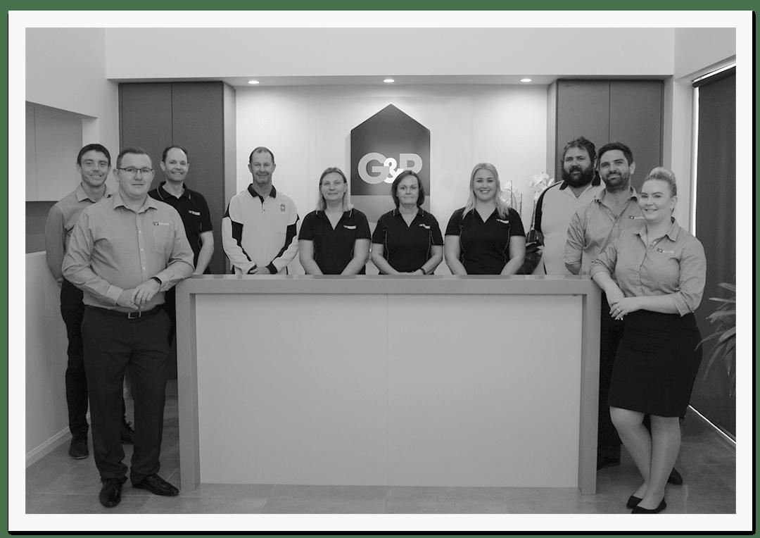 G & P Builders team photo.